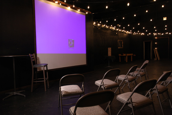 Seattle Escape Game Rooms banquet room Projector